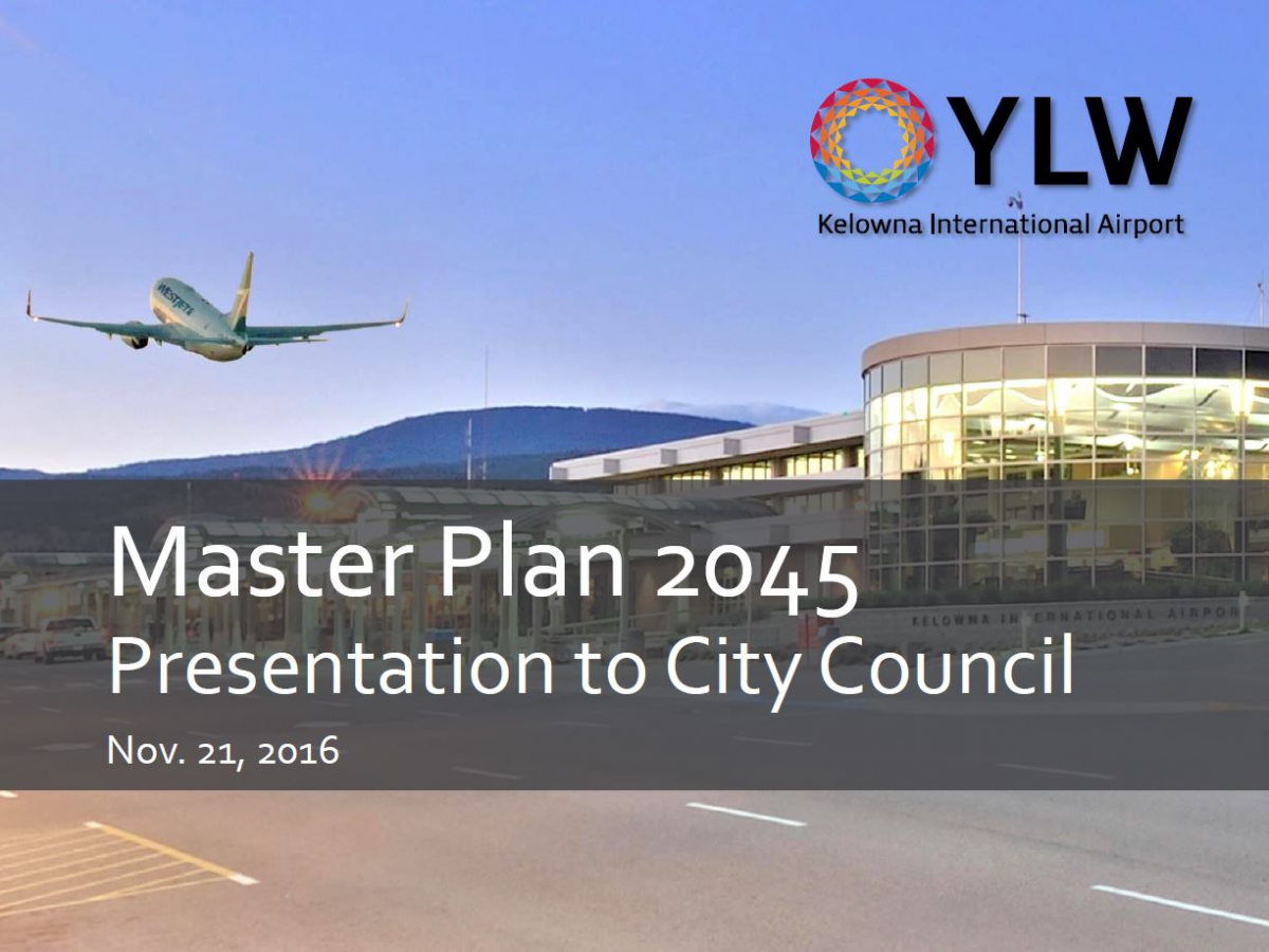 Master Plan Presentation Cover