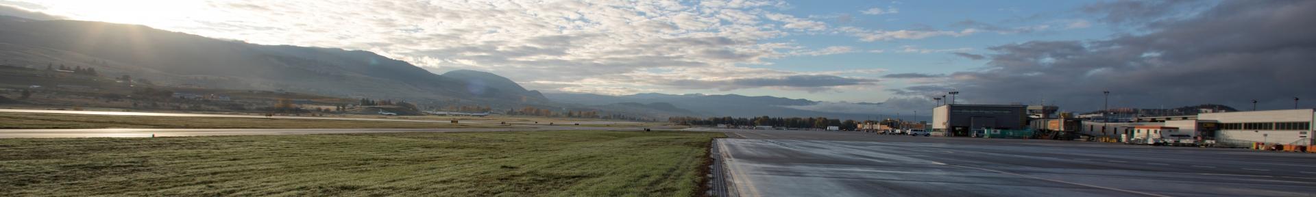 Runway lands