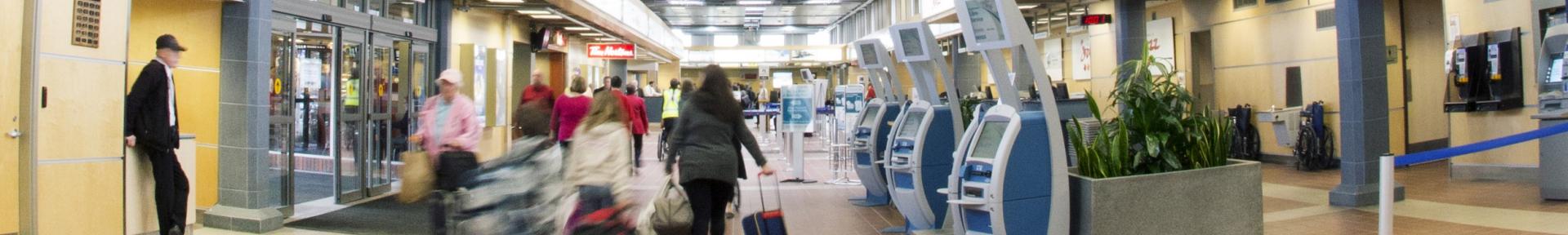 Terminal banner
